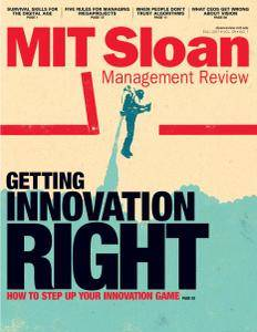 MIT Sloan Management Review - Fall 2017