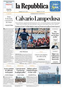 la Repubblica – 07 luglio 2019