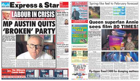 Express and Star City Edition – February 22, 2019
