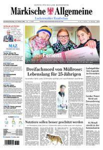 Märkische Allgemeine Luckenwalder Rundschau - 03. Februar 2018