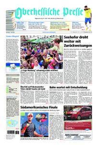 Oberhessische Presse Marburg/Ostkreis - 07. Juli 2018