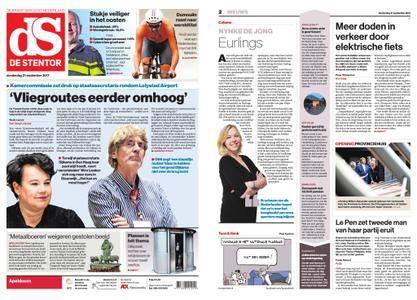 De Stentor - Apeldoorn – 21 september 2017