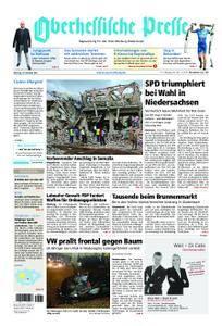 Oberhessische Presse Marburg/Ostkreis - 16. Oktober 2017