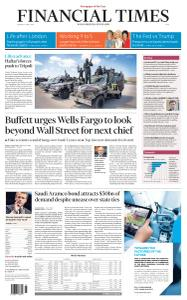 Financial Times Asia - April 8, 2019