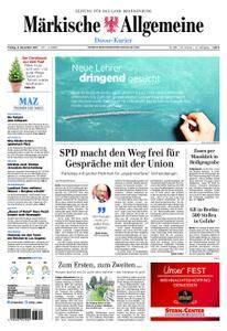 Märkische Allgemeine Dosse Kurier - 08. Dezember 2017