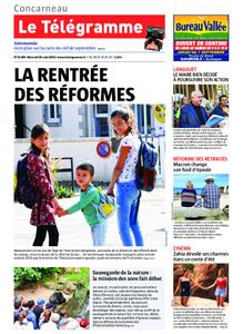 Le Télégramme Concarneau – 28 août 2019