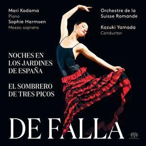 Mari Kodama - De Falla: Noches en los Jardines de España & El Sombrero de Tres Picos (2017)