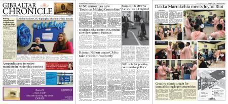 Gibraltar Chronicle – 16 January 2020