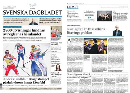 Svenska Dagbladet – 25 februari 2019