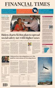 Financial Times Europe - April 29, 2021