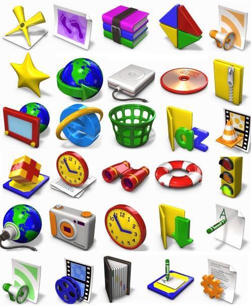 объемные иконки из картинки или сохраните