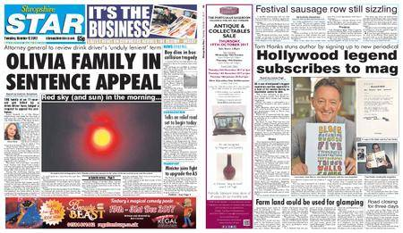 Shropshire Star Shrewsbury Edition – October 17, 2017