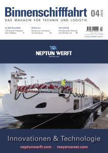 Binnenschifffahrt - April 2019