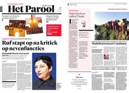 Het Parool – 17 oktober 2017