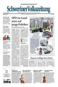 Schweriner Volkszeitung Hagenower Kreisblatt - 19. Januar 2018