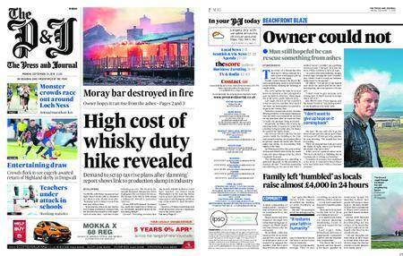 The Press and Journal Moray – September 24, 2018