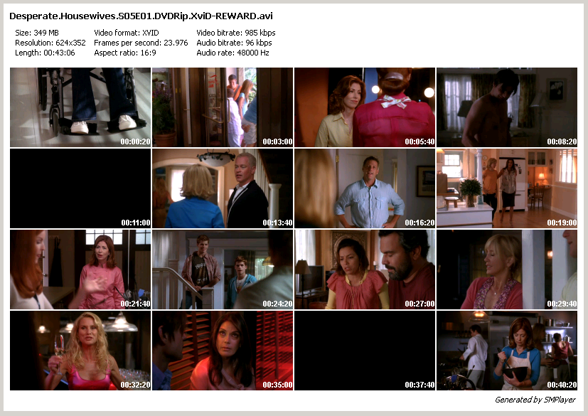 Desperate Housewives season 5 completed