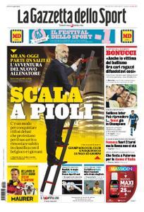 La Gazzetta dello Sport Roma – 09 ottobre 2019