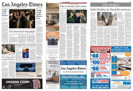 Los Angeles Times – January 18, 2020