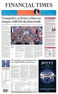 Financial Times Europe - January 7, 2021