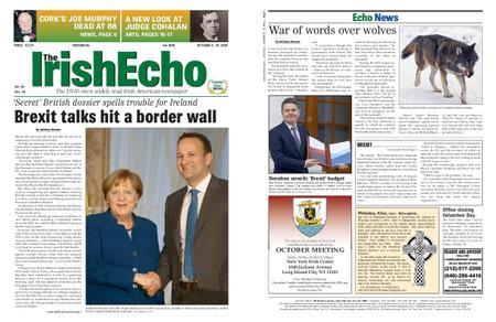 The Irish Echo – October 09, 2019
