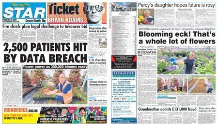 Shropshire Star North County Edition – May 25, 2018