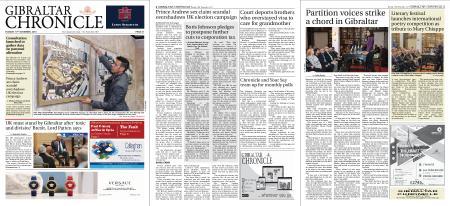 Gibraltar Chronicle – 19 November 2019