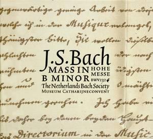 Johann Sebastian Bach (1685-1750) - Hohe Messe - Netherlands Bach Society / Jos van Veldhoven