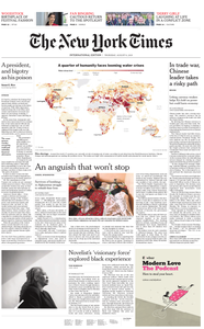International New York Times - 08 August 2019