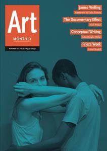 Art Monthly - November 2012   No 361