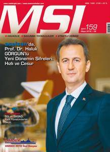 MSI Dergisi - Mayıs 2018