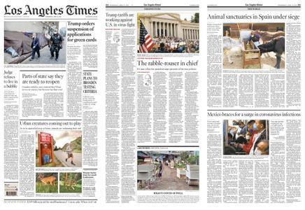 Los Angeles Times – April 22, 2020