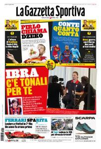 La Gazzetta dello Sport Roma – 30 agosto 2020