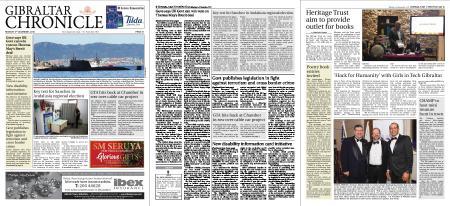 Gibraltar Chronicle – 03 December 2018
