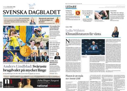Svenska Dagbladet – 04 december 2018