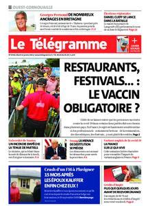Le Télégramme Ouest Cornouaille – 12 janvier 2021