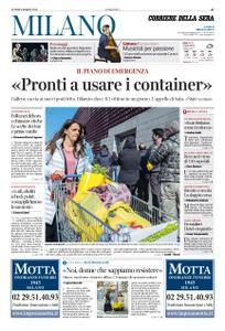 Corriere della Sera Milano – 09 marzo 2020