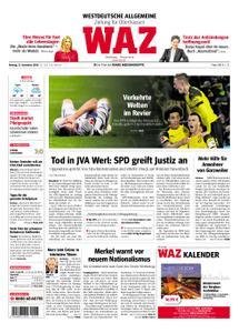 WAZ Westdeutsche Allgemeine Zeitung Oberhausen-Sterkrade - 12. November 2018