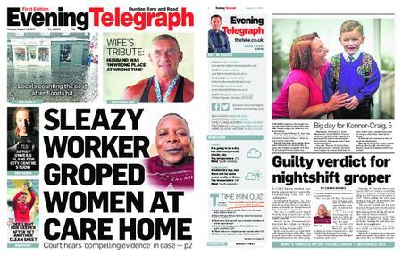 Evening Telegraph First Edition – August 12, 2019