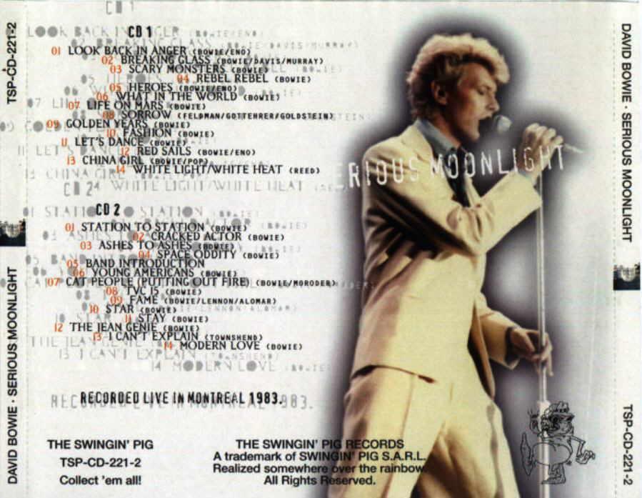 David Bowie Montreal 1983-07-13 Live Soundboard Recording / AvaxHome