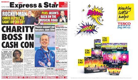 Express and Star City Edition – November 02, 2019