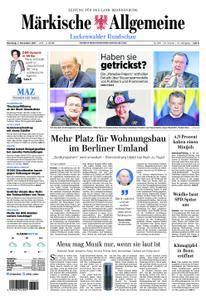 Märkische Allgemeine Luckenwalder Rundschau - 07. November 2017