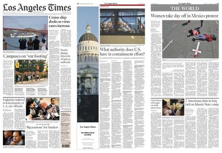 Los Angeles Times – March 10, 2020