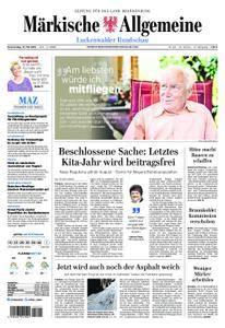 Märkische Allgemeine Luckenwalder Rundschau - 31. Mai 2018