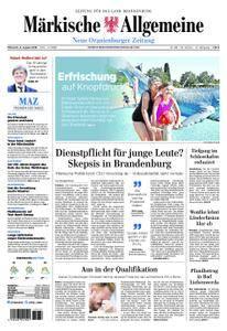 Neue Oranienburger Zeitung - 08. August 2018