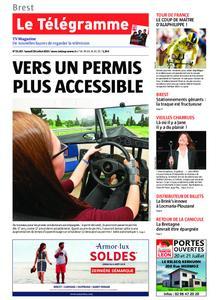 Le Télégramme Landerneau - Lesneven – 20 juillet 2019