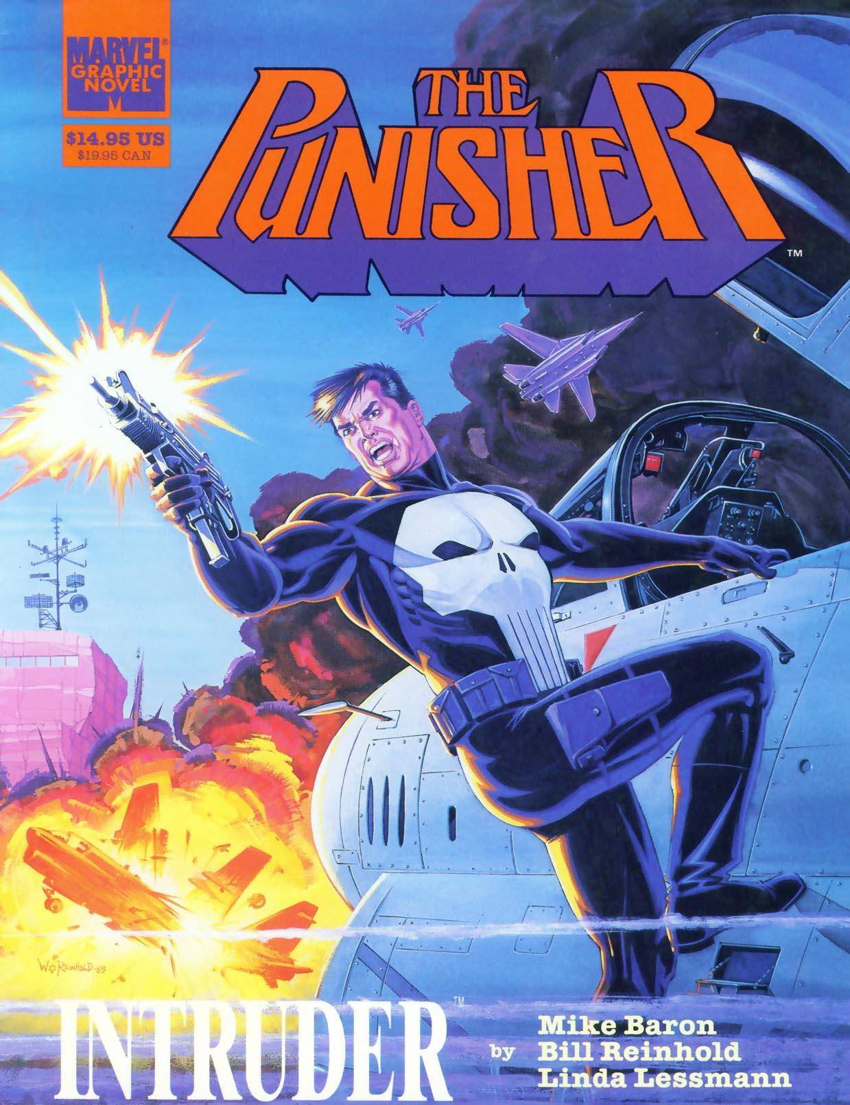 Marvel Graphic Novel 51 - Punisher - Intruder 1989