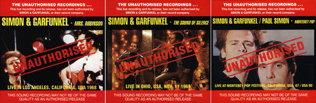 Simon & Garfunkel - The Unauthorised Live Recordings (3 CD) [Re-Up]
