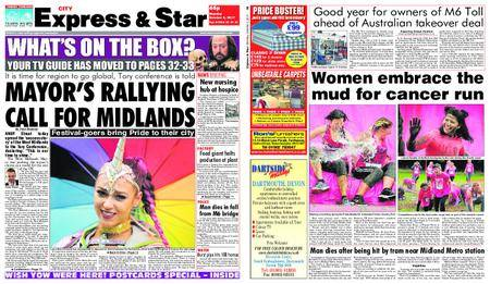 Express and Star City Edition – October 02, 2017