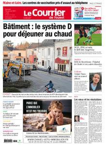 Le Courrier de l'Ouest Cholet – 16 janvier 2021